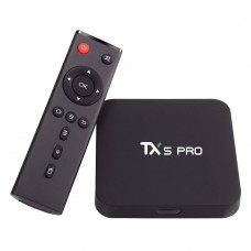 TX5 Pro TV Box H.265 Quad Core Amlogic S905X Android 6.0 2G+16G Wifi Smart Media Player Bluetooth 4.0