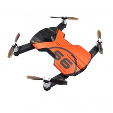 Wingsland S6 Pocket Selfie WiFi FPV Drone Quacopter 4 Axis with 4K HD Camera Propeller RTF Orange