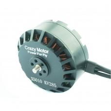 Crazy Motor 5010 Brushless Motor 285KV for FPV Quadcopter Drone Multirotor