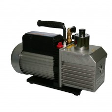 Vacuum Pump Dual Stage 1.5CFM 5Pa 200mL Oil Capacity Refrigeration Tool VE215