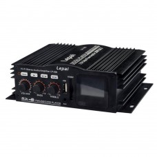 LP-500 HIFI Audio Amplifier Dual Channel Multimedia Player 20W+20W Support FM USB SD Card