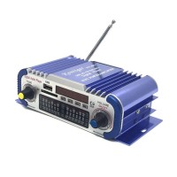 HiFi HY601 Digital Car Stereo Power Amplifier Audio Music Player Dual Channel Support USB SD FM