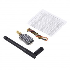 OCDAY Transmitter 25mW to 600mW 5.8G 48CH Video Audio Tx SMA Bent Connector for FPV Drone Quadcopter
