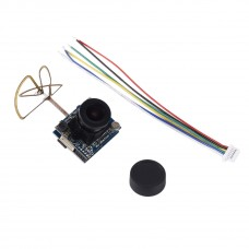 Mini 5.8G 40CH 25mW to 200MW Indoor Image Transmission with Camera for FPV Drone Quadcopter