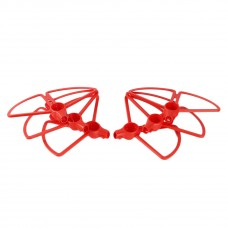 YUNEEC Typhoon H480 Propeller Guard Bumper Quick Release for Quadcopter Drone Red 6Pcs