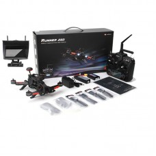Walkera Runner 250 PRO Quadcopter 4 Axis Drone with 800TVL Camera OSD GPS DEVO 7 Transmitter 5.8G Monitor FPV Version