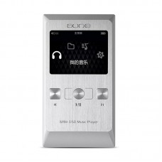 Aune M2 Pro HIFI Music Player 32bit DSD Lossless Music MP3 with HD OLED Screen Silver