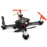 QX110 110mm FPV Racing Drone 4 Axis Quadcopter Carbon Fiber with F3 Brush Flight Controller Camera