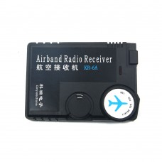 Air Band Radio Receiver 118MHz to 136MHz Aviation Band Receiver for Airport Ground