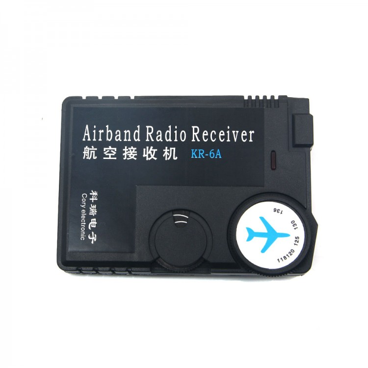 Air Band Radio Receiver 118MHz to 136MHz Aviation Band