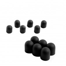 Durable Silicone Motor Protective Cover for YUNEEC H480 Quadcopter Black 12Pcs