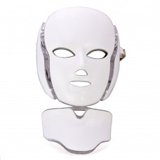 Photodynamic Colorful LED Facial Mask Daily Beauty Instrument Anti Acne Skin Rejuvenation Beauty Mask for Face Neck Ear