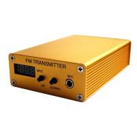 20W FM Transmitter Stereo PLL Broadcast Radio Station +Range
