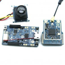 Micro Scisky F1 FPV Flight Controller 32Bit with Transmitter + OSD + Camera Support FRSKY Receiver