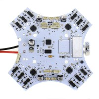Integrated 30A ESC+OSD+BEC+Galvanometer FPV Power Distribution Board for S450 S500 S550 Quadcopter
