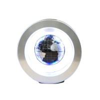"""Magnetic Levitation Floating Globe 4"""" O Type Rotating English World Map Home Decoration Fashion Holiday Gifts"""