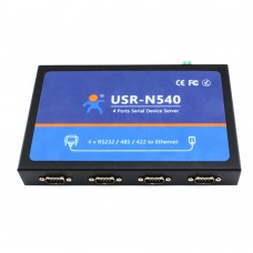 USR-N540 4 Serial Port RS232/ RS485/ RS422 to Ethernet Converter Communication Device