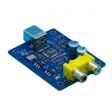 SA9227+PCM5102A 32BIT/384KHZ USB DAC/HIFI Asynchronous Decoder no Case