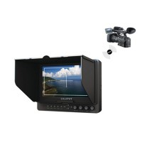 "LILLIPUT 665OPWH 7"" Wireless Monitor wth HDMI Output for DSLR Camcorder Camera"