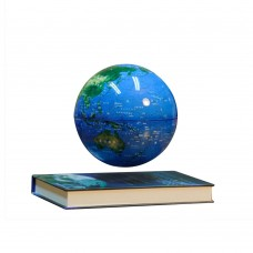 6 Inch Electronic Magnetic Levitation Floating Globe English World Map for Gifts Home Decoration