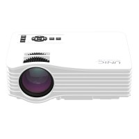 UNIC UC36 Mirco Projector 1080P HDMI LED Home Theater Beamer Multimedia Video Player fro Android iOS White