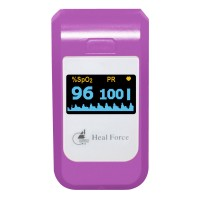 PC60B3 Fingertip Pulse Oximeter Pulse Blood Oxygen Saturation Meter Monitor for Health Care