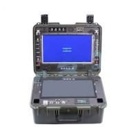 "Peeper Ground Station System Double 15.6"" Screen Display with 10km Image Transmission for FPV Drone Quadcopter UAV"