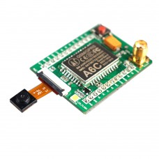 GPRS + GSM Module A6C SMS Voice Decelopment Board with Antenna Camera for DIY