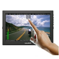 LILLIPUT TM-1018P 10.1 IPS LED Touch Monitor with AV VGA HDMI Input Output for DSLR Full HD Camera Camcorder