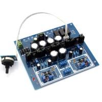 HIFI JC-2 Preamplifier Board ZTX550 ZTX450 K364 J104 IRF610 IRF9610 3 Channel Input Switch Preamp