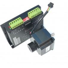 57 Stepper Motor 40mm + Motor Driver FMD2740C Kit for Engraving Machine CNC Router
