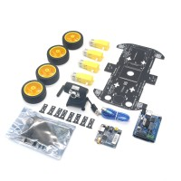 Arduino Wifi Smart Car Robot Kit iOS Video Car Robot Wireless Remote Control Android PC Video Monitoring