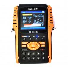 Sathero SH800HD USB2.0 DVB-S2 HD Spectrum Analyzer Digital Satellite Finder Digital Meter