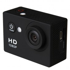 "A9 Action Camera 1080P 2"" 30M DV Waterproof Outdoor 1920x1080 15FPS Sport Video Camera"