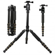 Zomei Z699 Aluminum Tripod Monopod with 360 Degree Ball Head for DSLR Camera