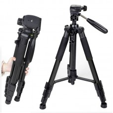 ZOMEI Q111 Camera Tripod Aluminium Stand with PanHead Plate for Canon Nikon Sony SLR DSLR Camera
