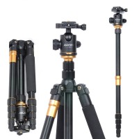 ZOMEI Z669 Aluminum Alloy Tripod Monopod Camera Stand with Ball Head for Canon Nikon DSLR