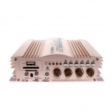 SON-288 Car Audio Power Amplifier 12V 600Wx2 with FM Function Double USB SD Card Slot