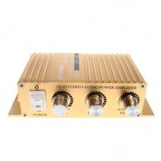 SON8251B Car HIFI Stereo Power Amplifier 180W+180W DC12V Audio MP3 Player
