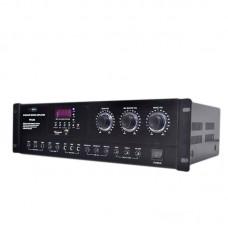 Karaoke Mixing Amplifier HIFI Bluetooth 330W+330W Audio Dual Channel Support USB SD Card