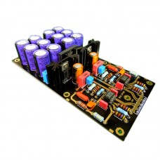 DUAL Amplifier Board OPA2111KP OP AMP for LongPlay LP Purple Capacitors Assembled