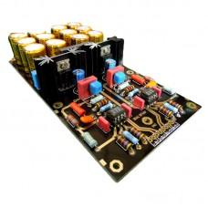 DUAL Amplifier Board OPA2111KP OP AMP for LongPlay LP Gold Capacitors Assembled
