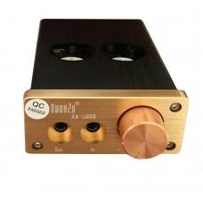 U808 Headphone Amplifier AC100 to 240V HIFI Audio Earphone Amp with 6J9 Tube