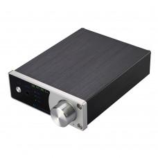 SMSL A2 TDA7492 HiFi 2.0 Digital Audio Power Amplifier 40Wx2 Class D Input AUX RCA Subwoofer LED EQ Setting Silver