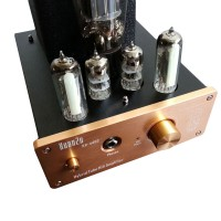 XZ U202 Earphone Headphone Tube Amplifier Preamplifier Input USB AUX RCA DAC Audio Decoder