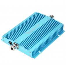 GSM950 900MHz Repeater Signal Booster Amplifier with Antenna for Mobile Phone Blue