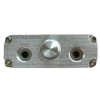 Little Bear B4 Audio Amplifier HiFi Portable Vacuum Valve Tube Headphone AMP Silver
