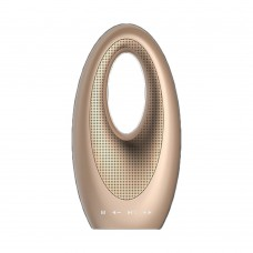 Wireless Bluetooth Audio Speaker Color LED Music MP3 Player Support TF Card Gold