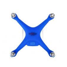 Phantom 4 Silicone Protective Cover Fuselage Protection Cover Thickened Dust Proof Case Blue