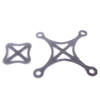 X120 FPV Quadcopter Frame Wheelbase 120mm 4 Axis Racing Drone Unassembled